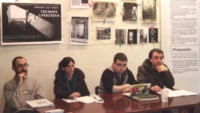 El movimiento ciudadano reclama al Ayuntamiento de Madrid la cesión de Corredera-Barco para crear un centro social
