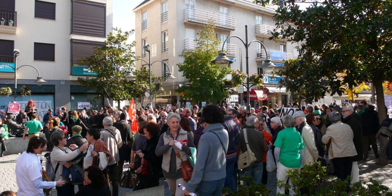 El movimiento vecinal con la huelga general