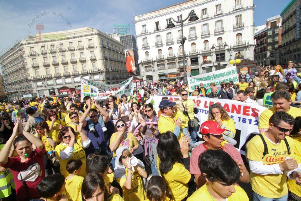 El movimiento vecinal llevará sus reivindicaciones educativas a Sol el 1 de marzo