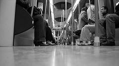 El transporte público en Madrid: menos por más
