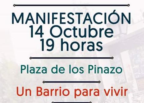 """El vecindario de San Cristóbal de los Ángeles sale a la calle para reclamar un """"barrio digno"""""""