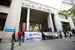 En marcha la iniciativa legislativa municipal contra la privatización del Canal de Isabel II