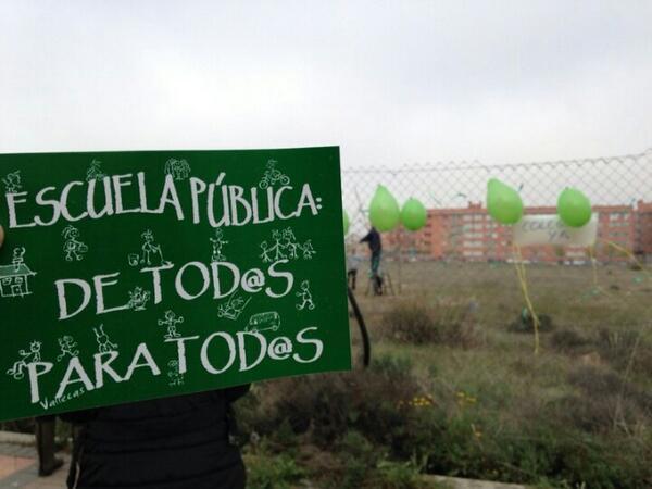 Ensanche de Vallecas: la carencia de plazas públicas obliga a las familias a escolarizar a sus hijos en colegios concertados