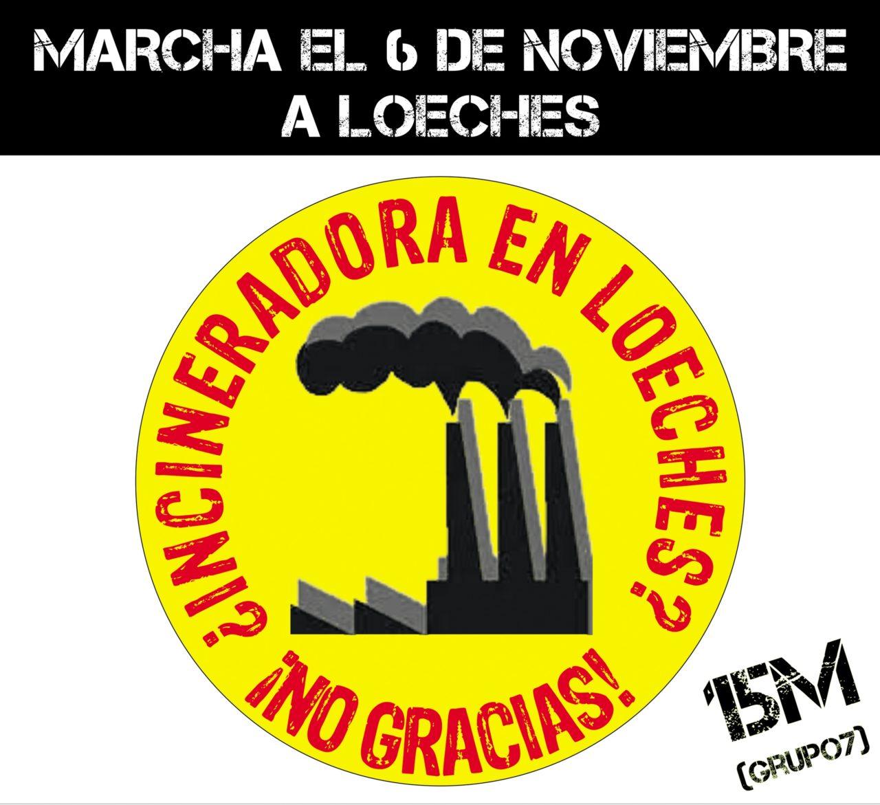 Este domingo, ¡marcha hasta Loeches contra el macrovertedero!