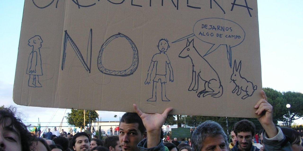 Gasolinera en Hortaleza ¡NO!