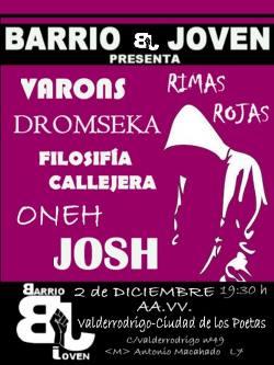 Hip hop para Barrio Joven en Valderrodrigo