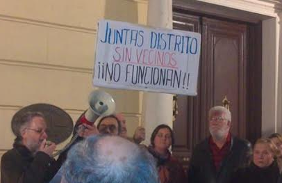 """""""Huelga de mociones"""" en protesta por el incumplimiento de los acuerdos del Ayuntamiento de Alcalá de Henares"""