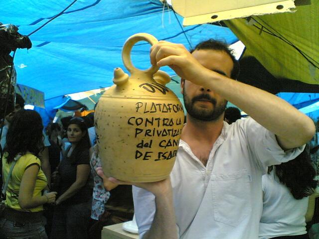 Iniciativas legislativas municipales contra la privatización del Canal de Isabel II