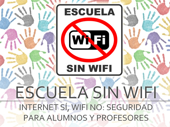 Internet si, pero sin wifi en las escuelas