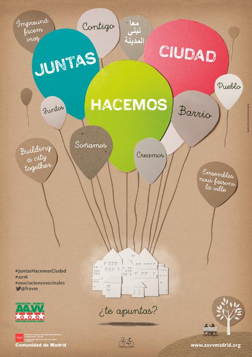 #JuntasHacemosCiudad: las asociaciones vecinales, más necesarias que nunca