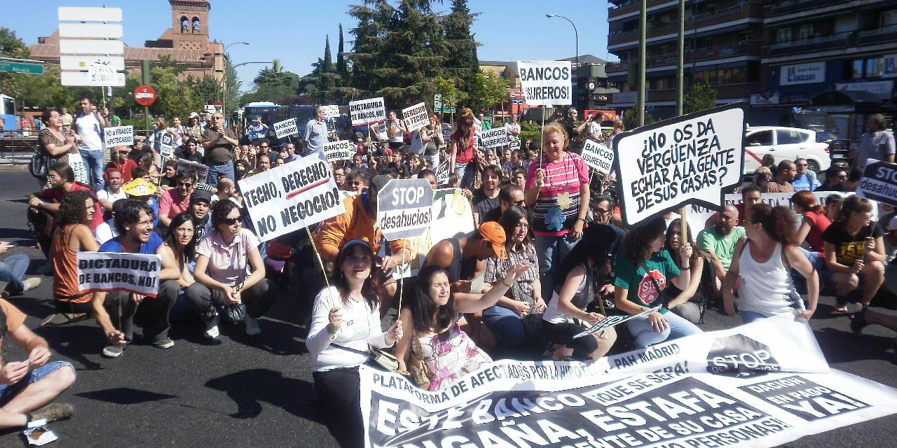 LA FRAVM denuncia la actuación policial desplegada para ejecutar el desahucio de la vecina de Pueblo Nuevo