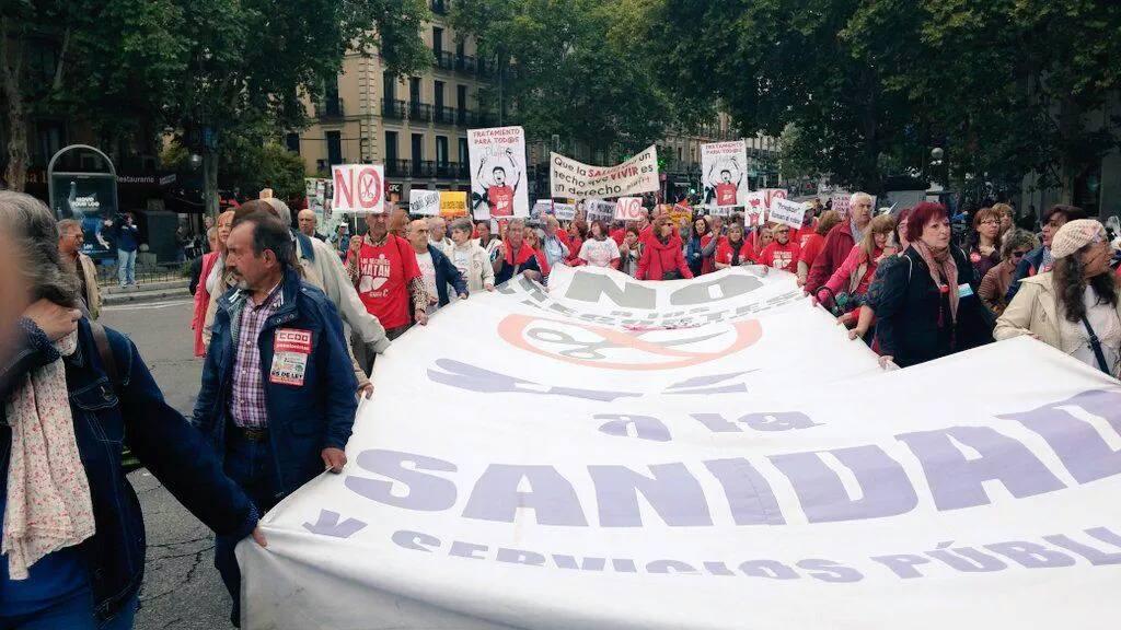 """La 37 Marea Blanca pide la retirada del """"planazo"""" que abrió la puerta a la privatización sanitaria"""