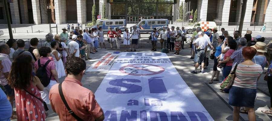 La 46ª Marea Blanca denuncia el cierre de más de 3.000 camas hospitalarias este verano