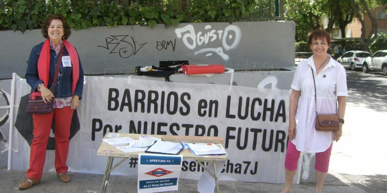 La AV AFAO logra la reapertura del acceso peatonal al metro en El Capricho