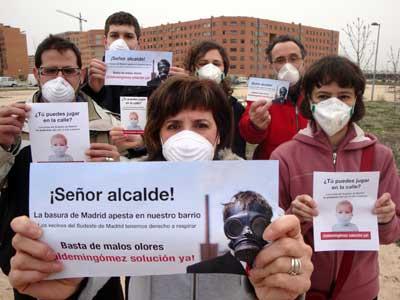 La AV PAU De Vallecas no descarta llevar a los tribunales al Ayuntamiento de Madrid si amplía el vertedero de Valdemingómez