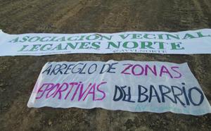 La AV de Leganés Norte, indignada por la cesión al Club Deportivo Leganés de 32.000 m² de terreno público