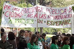 """La AV de Palomeras Bajas califica de """"infame"""" el """"montaje"""" del Gobierno regional en torno a las camisetas verdes"""