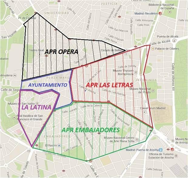 La AV las Cavas y Costanillas exigen la declaración de Área de Prioridad Residencial para La Latina