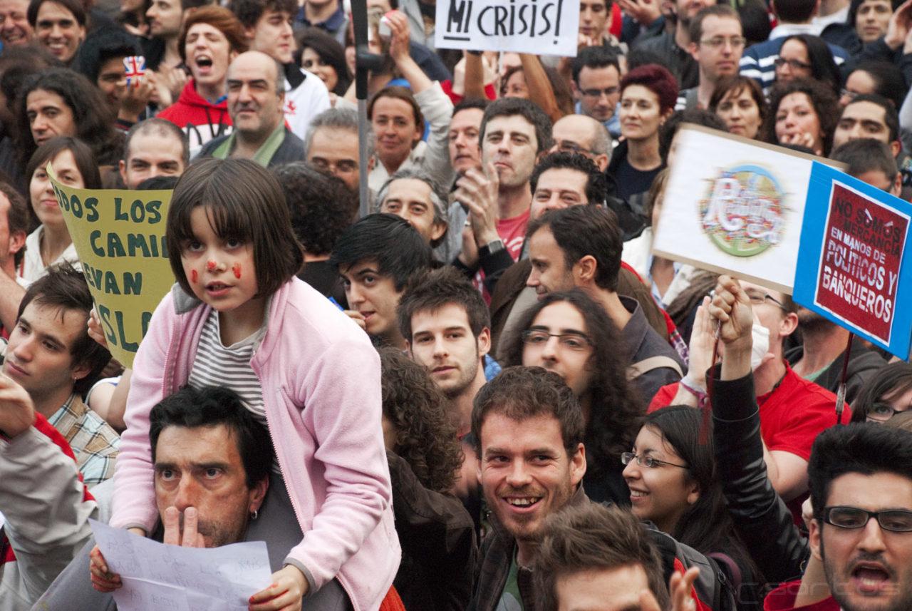 La Asamblea General de la FRAVM saluda el movimiento 15-M