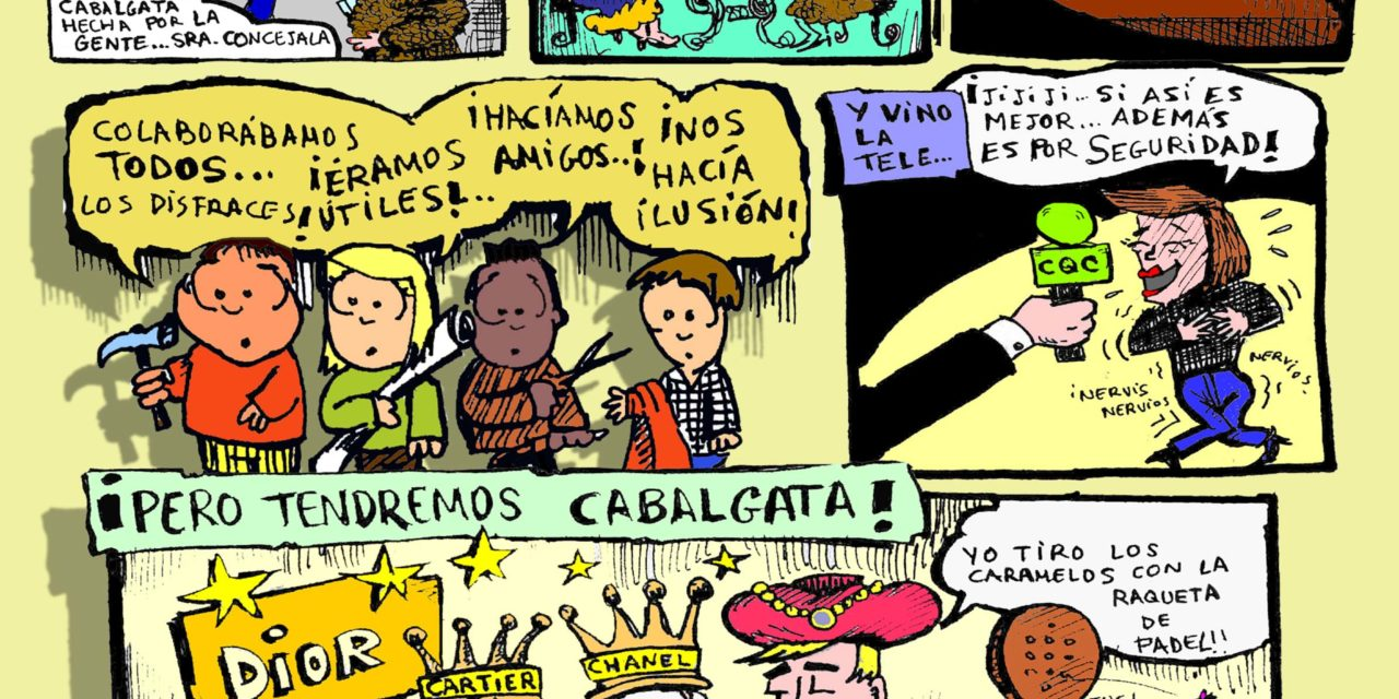 La Cabalgata popular de Hortaleza, más participativa que nunca