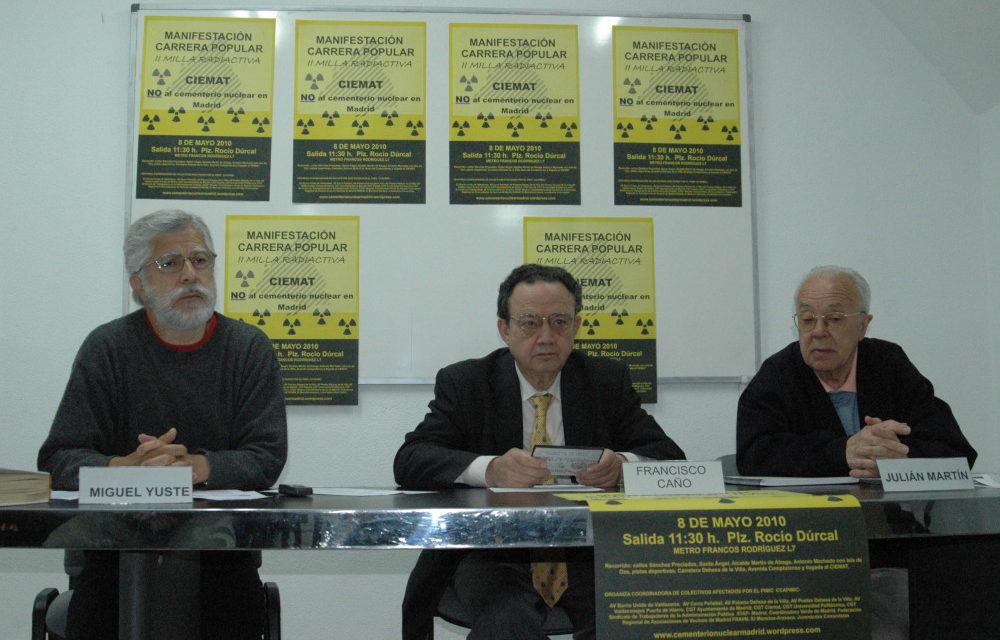 La Coordinadora de Colectivos afectados por el CIEMAT presentarán una querella criminal contra los responsables del centro
