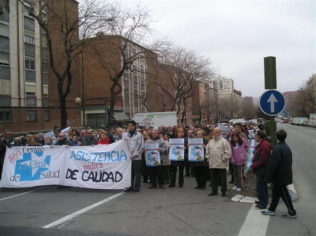 La Elipa vuelve a salir a la calle para exigir la construcción de un centro de salud