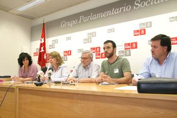 La FRAVM, CC OO, UGT, la ADSPM y el PSOE, contra el decreto de área sanitaria única