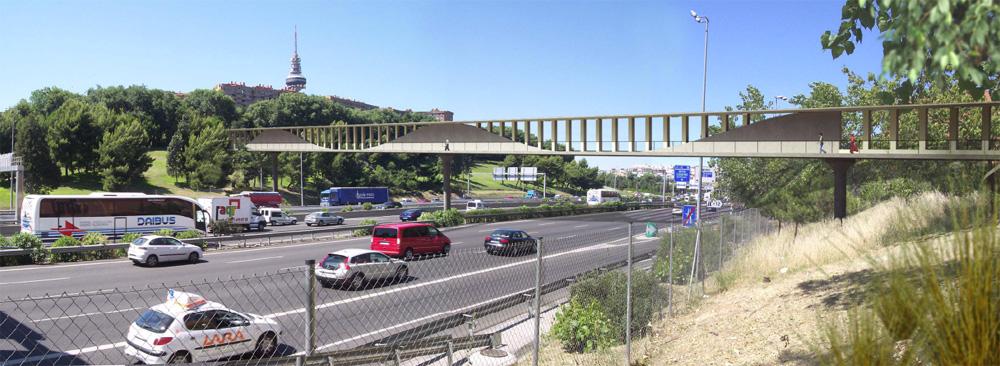 La FRAVM, a favor de la pasarela sobre la M-30 que comunicará el barrio de La Estrella y Moratalaz
