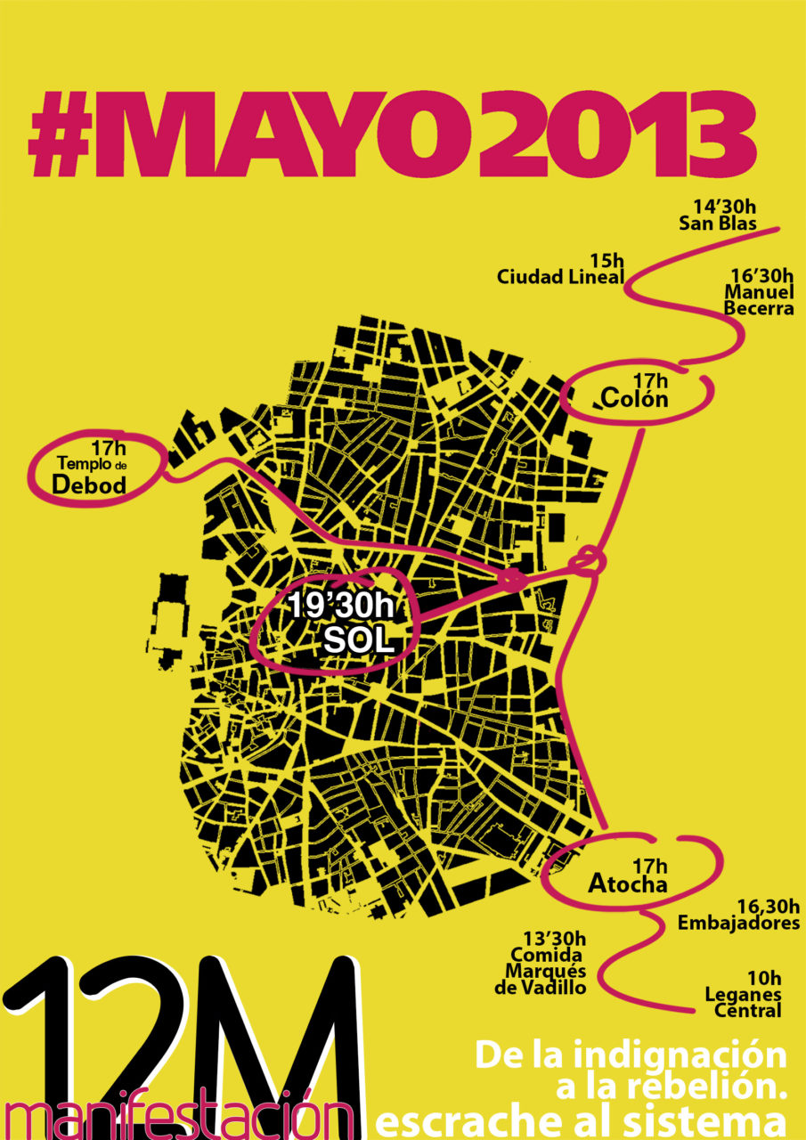 La FRAVM anima a la ciudadanía a participar en las movilizaciones #12M #15M