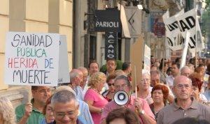 La FRAVM arranca con una jornada de lucha el inicio de una recogida de firmas contra el decreto de área sanitaria única