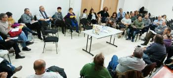 La FRAVM, con los afectados por las grietas del metro en San Fernando