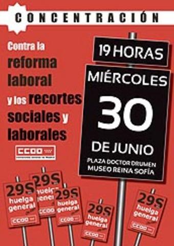 La FRAVM, contra la reforma laboral