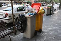 La FRAVM, contra los recortes en el servicio de la recogida de basuras
