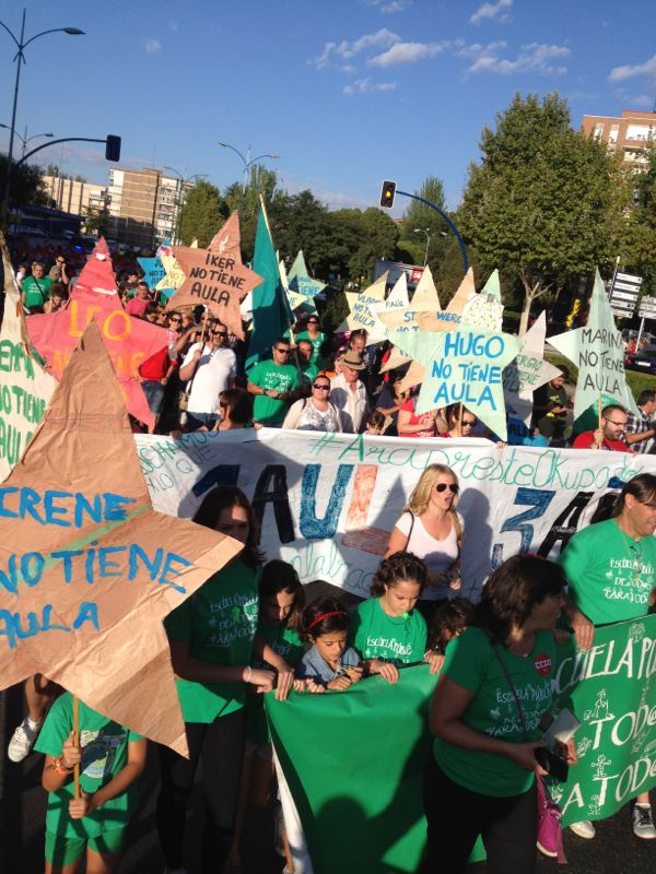 La FRAVM denuncia ante la fiscalía la apuesta del Gobierno regional por la educación privada