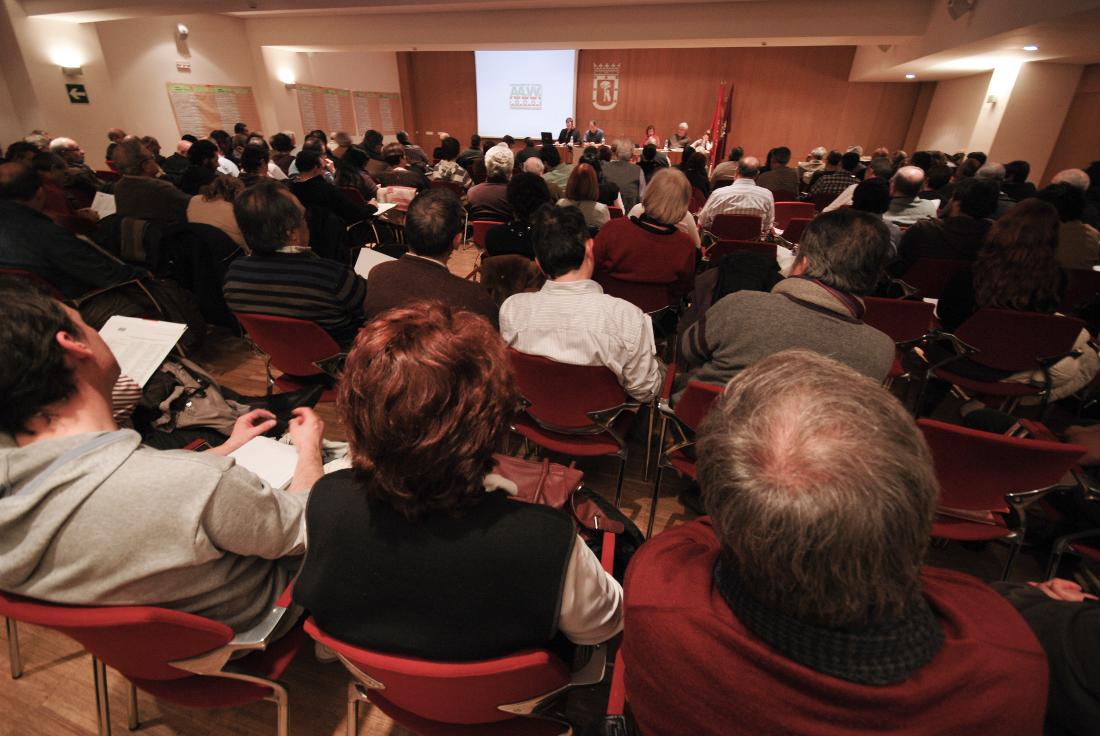 La FRAVM elegirá nueva junta directiva el próximo 27 de febrero