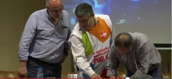 La FRAVM firma el pacto por una Radio Televisión Pública al servicios de los madrileños