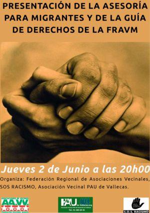 La FRAVM presenta su Guía básica de derechos para todos y todas