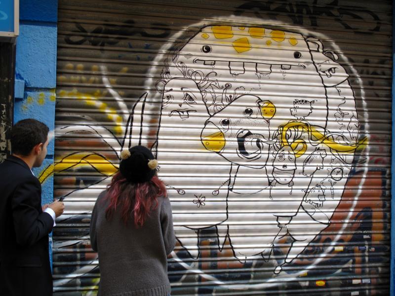 La FRAVM propone una modificación de la ordenanza que regula los graffitis en Madrid