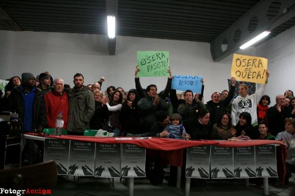 La FRAVM rechaza el desalojo de La Osera y exige el uso social del edificio
