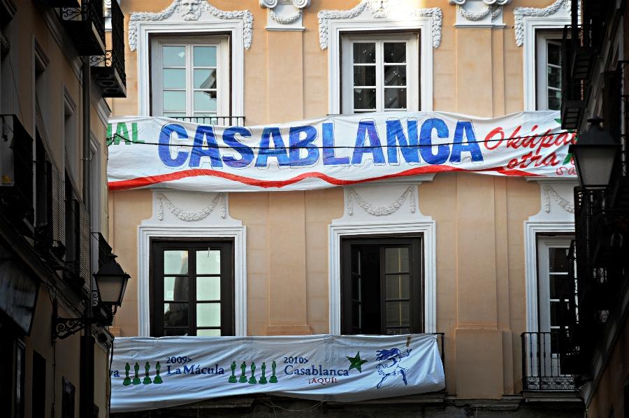 La FRAVM rechaza el desalojo del Centro Social Casablanca