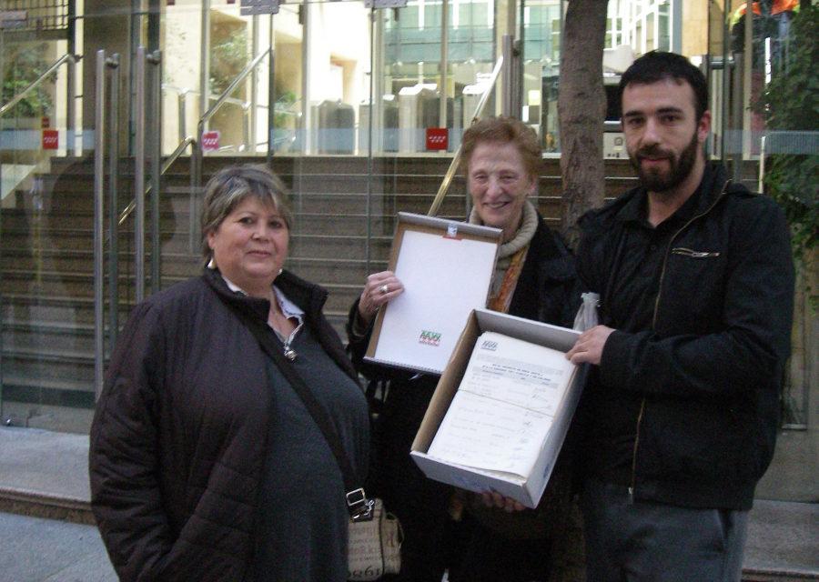 La FRAVM registra 8.826 firmas contra el decreto de área sanitaria única