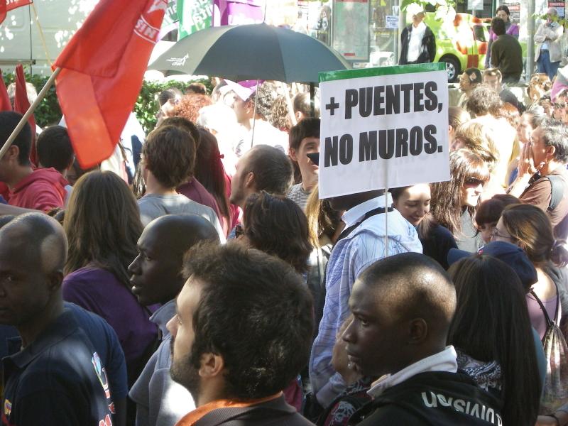 La FRAVM sale a la calle contra la reforma de la Ley de Extranjería