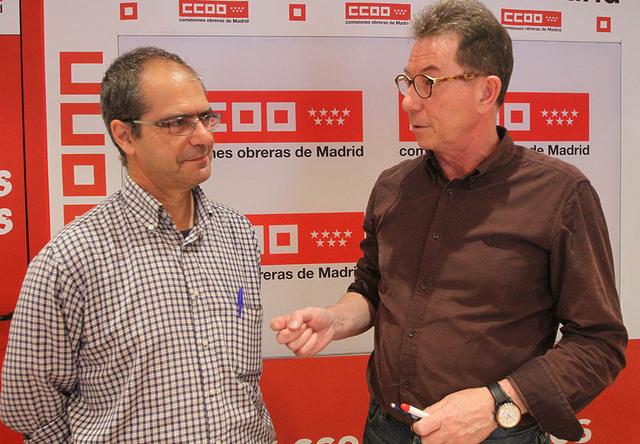 La FRAVM se da cita con CCOO Madrid