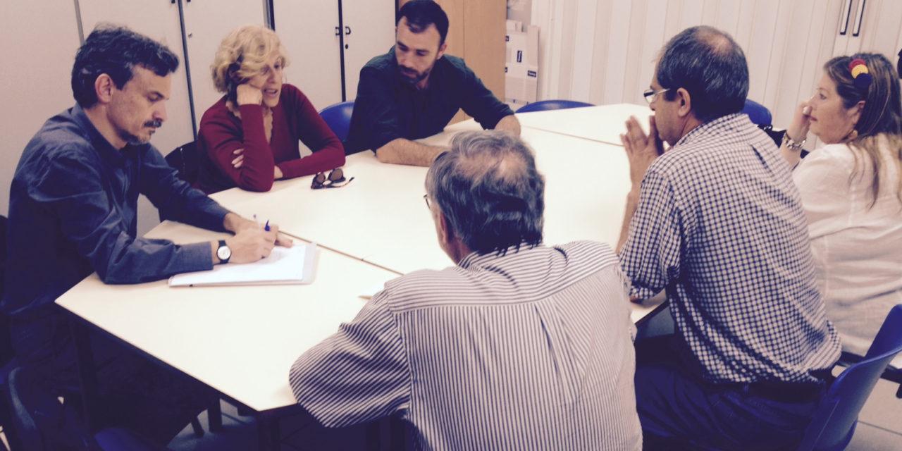 La FRAVM se reúne con Ahora Madrid y con Podemos