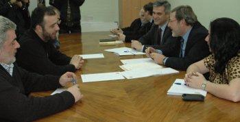 La FRAVM se reúne con el candidato socialista a la alcaldía de Madrid, Jaime Lissavetzky