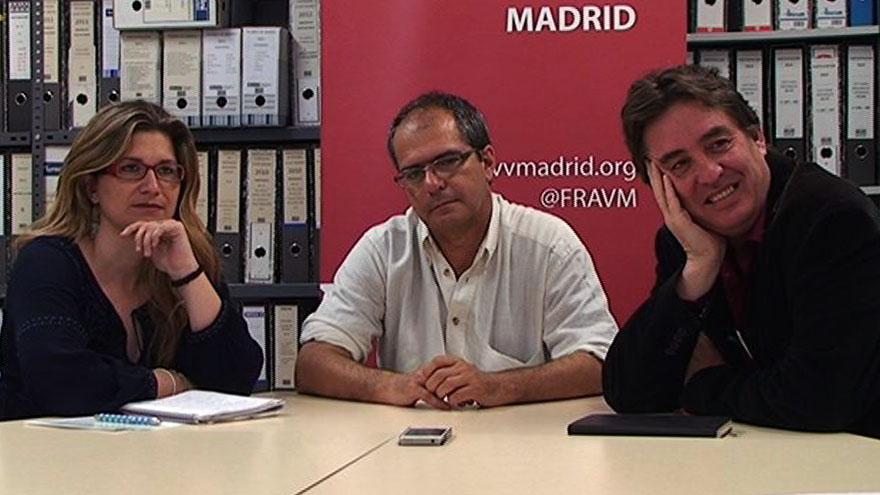 La FRAVM se reúne con los candidatos de IU al Gobierno regional y a la alcaldía de Madrid