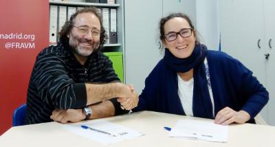 La FRAVM y la Confederación de Consumidores y Usuarios de Madrid firman un convenio de colaboración