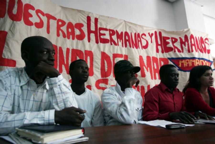La Federación vecinal apoya la movilización de las personas sin papeles de hoy jueves