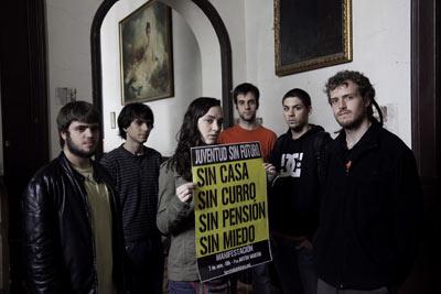 """La Federación vecinal, con """"la juventud sin futuro"""""""