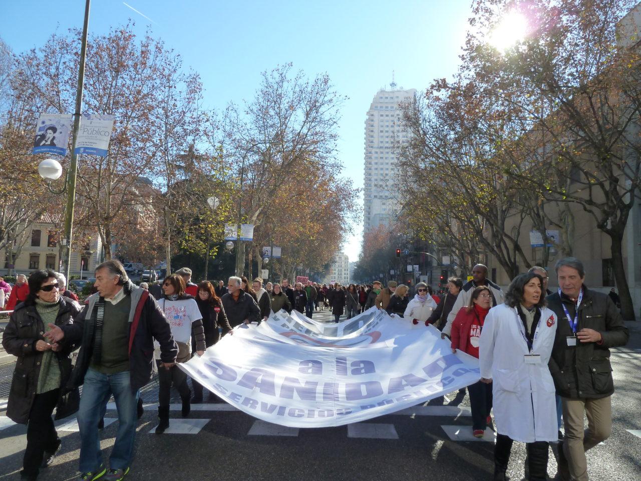 La Marea Blanca volverá a tomar la calle el domingo 18 de enero